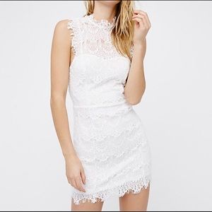 NWT Free People Day Dream White Body Lace Dress